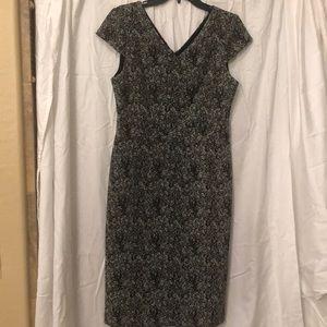 Betsy Johnson fitted sheath dress